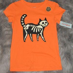 Halloween-Cat-Short Sleeve Tee